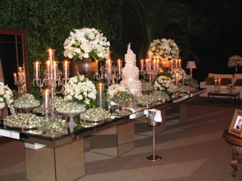 Eventos Sociais - Florença Eventos e Festas - Decoração para Casamento - Campinas - SP - 115
